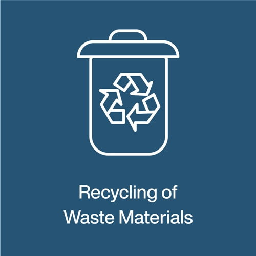 Pillar 7- Recycling of Waste Materials